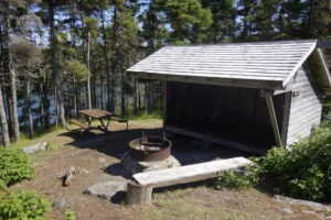 Duck Harbor Campground - Site 4