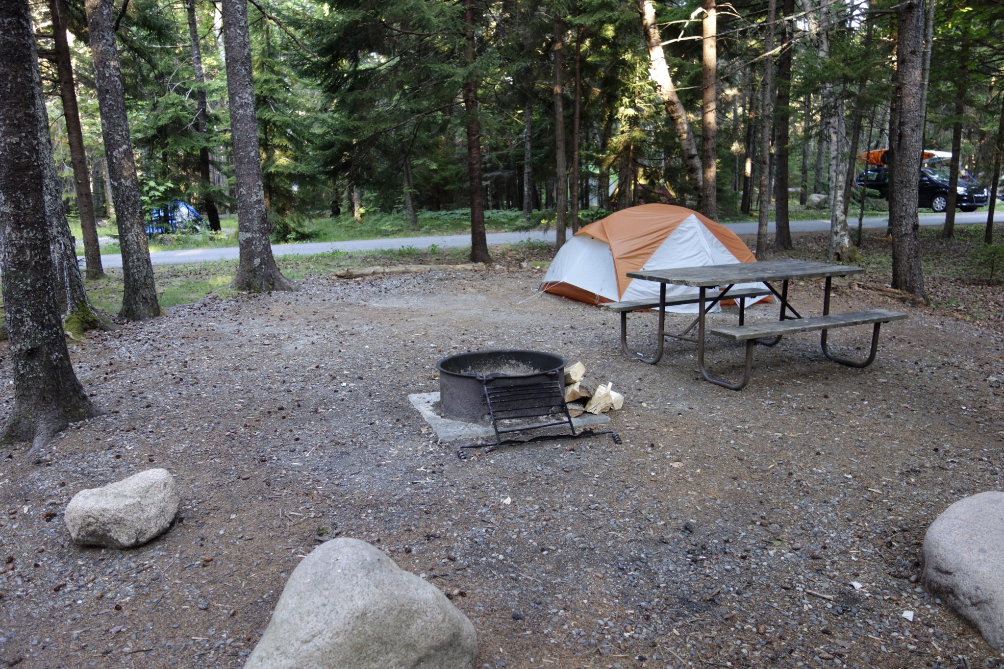 Acadia: Blackwoods Campground Site Front