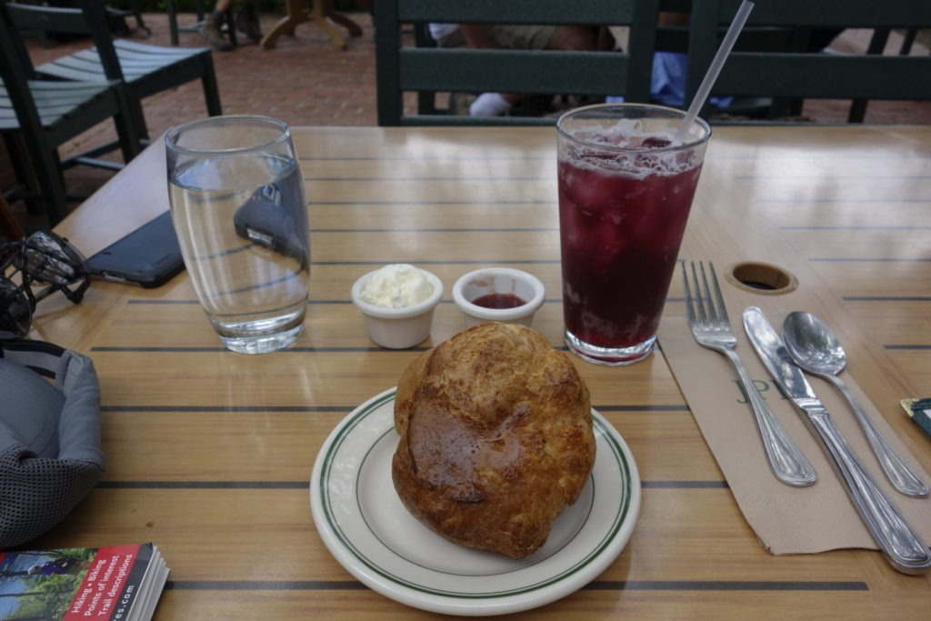 Acadia: Popover & Blueberry Soda
