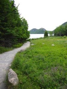 Acadia: Path to Jordan Pond