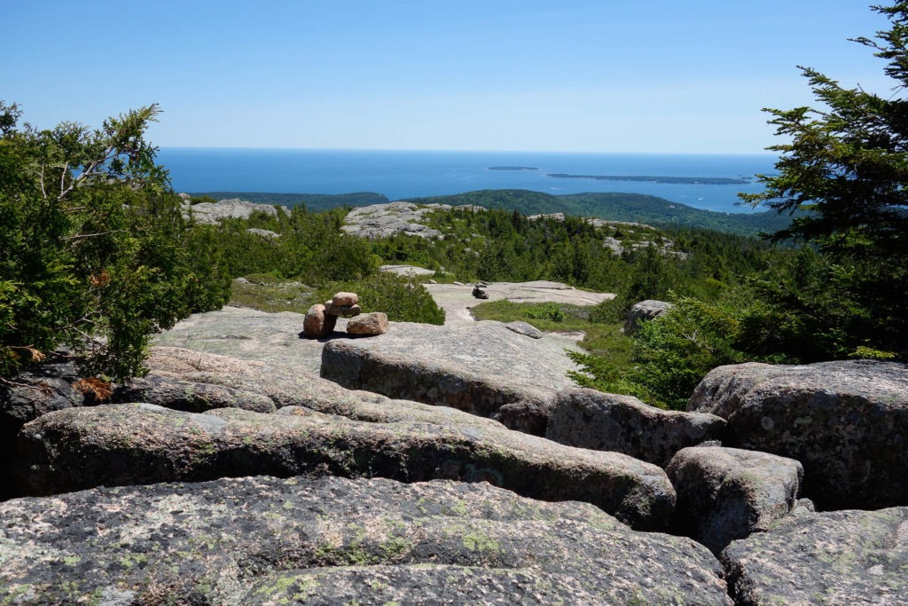 Acadia: Descending Pemetic Mountain