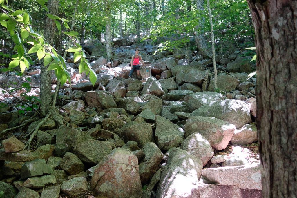 Acadia: Boulders Pemetic NW Trail