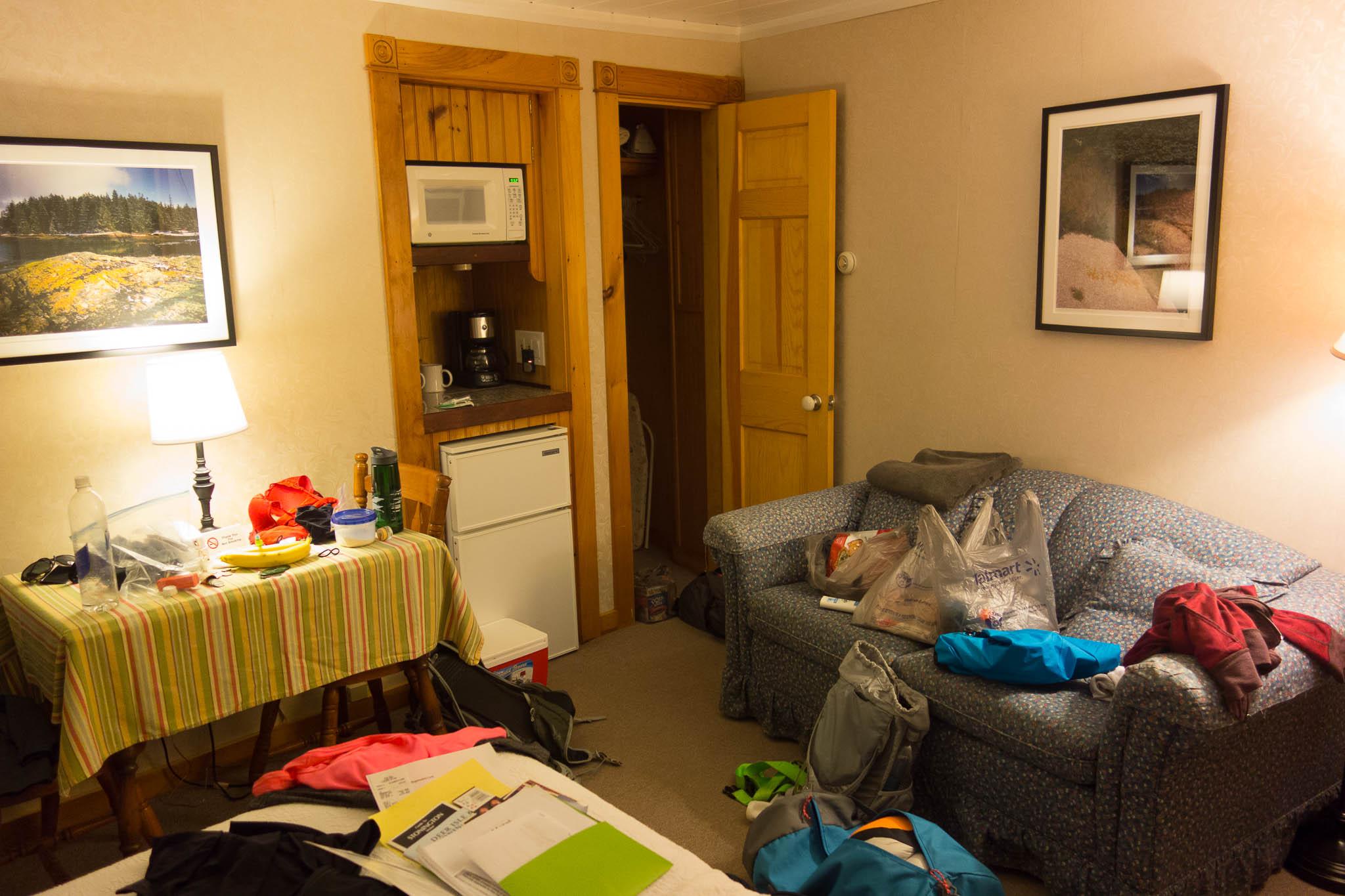 Acadia: Room 5 in Boyce's Motel in Stonington