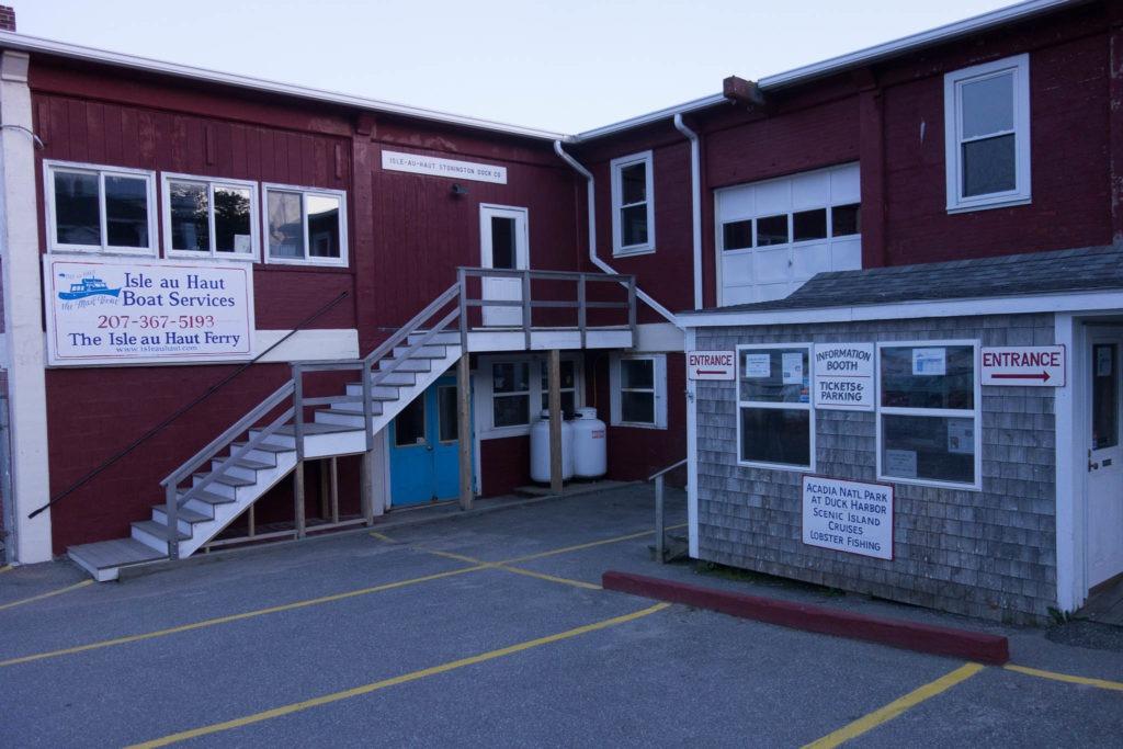 Acadia: Isle au Haut Ferry Booth in Stonington