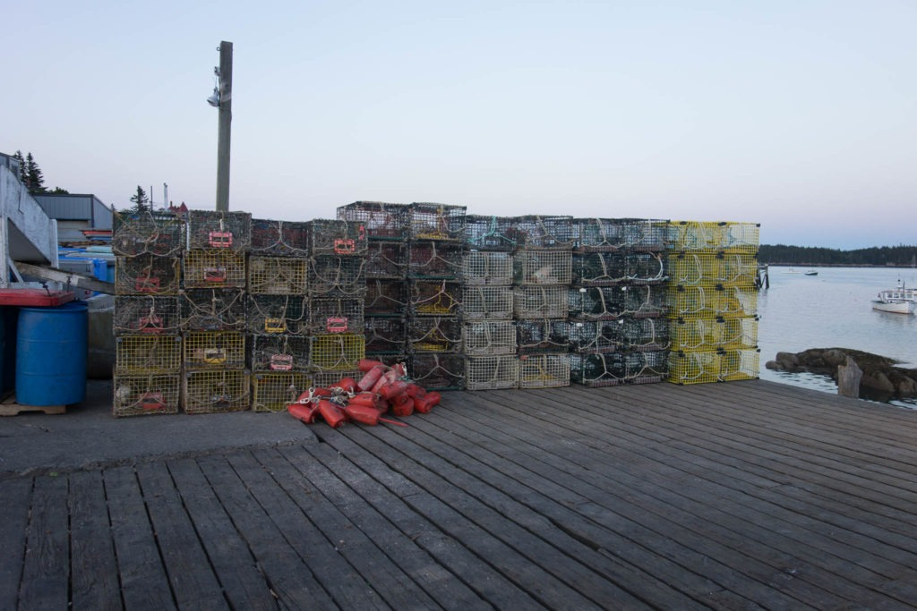 Acadia: Lobster Traps in Stonington