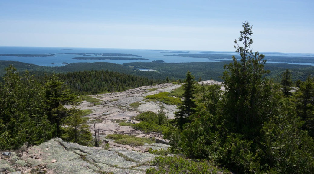 Acadia: View from top of Pemetic Mountain