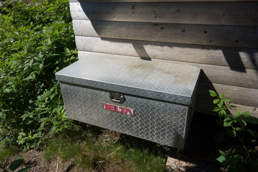 Acadia: Duck Harbor Campground Food Storage Box