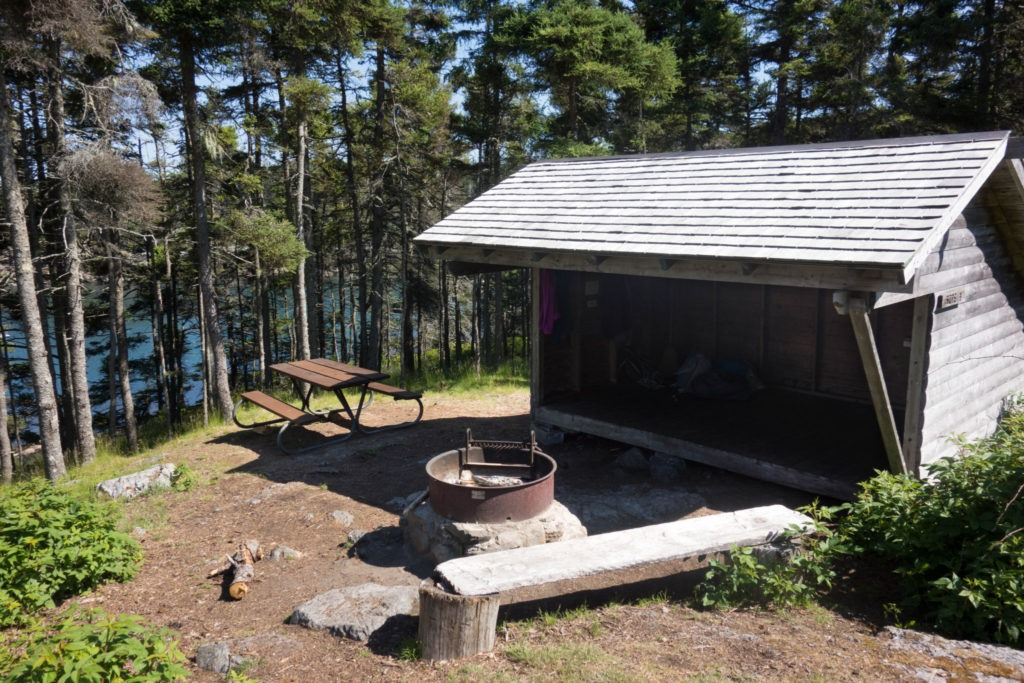 Acadia: Duck Harbor Campground Site 2
