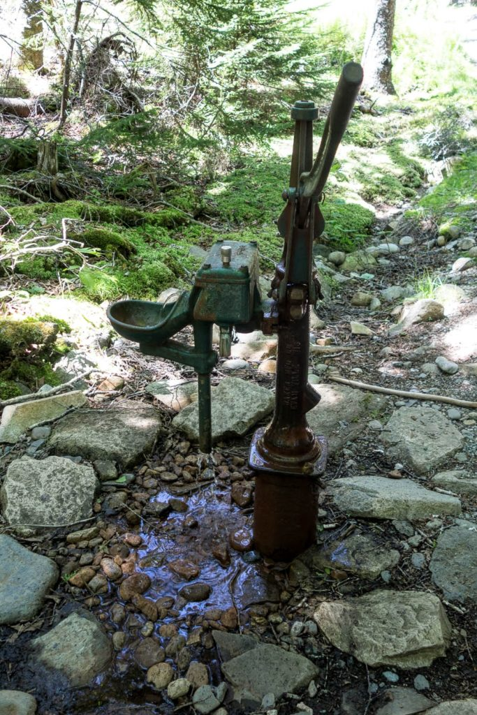 Acadia: Duck Harbor Campground Water Pump