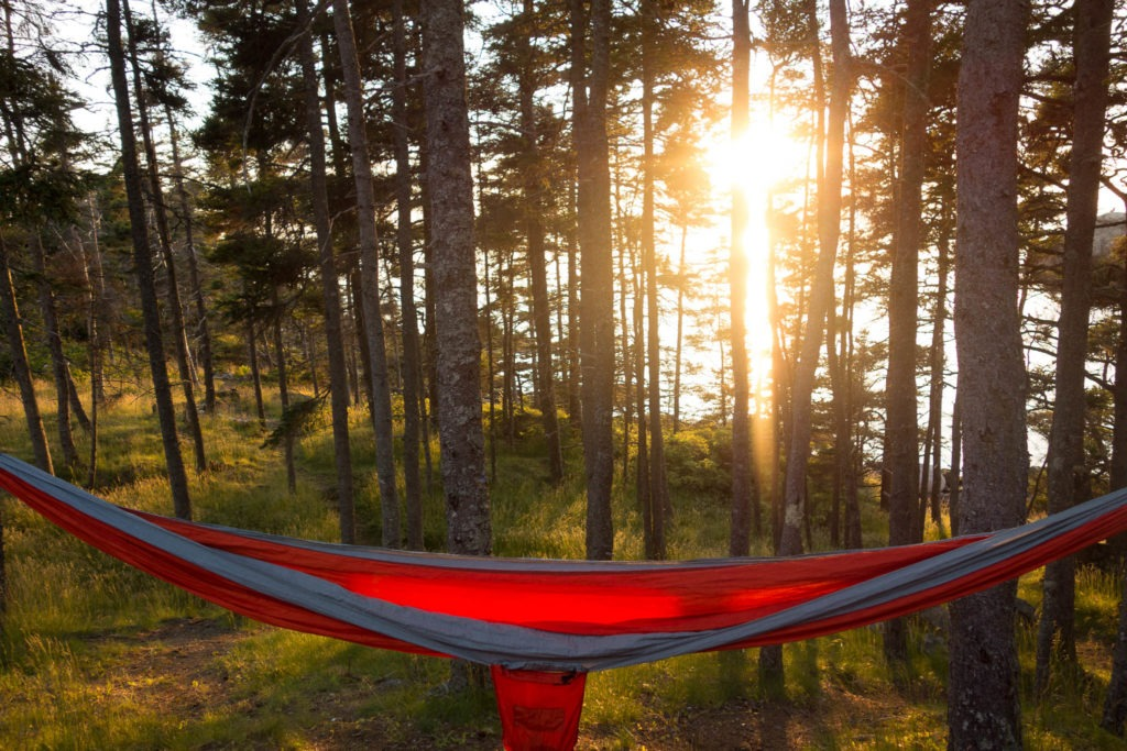 Acadia: Duck Harbor Campground Sunset