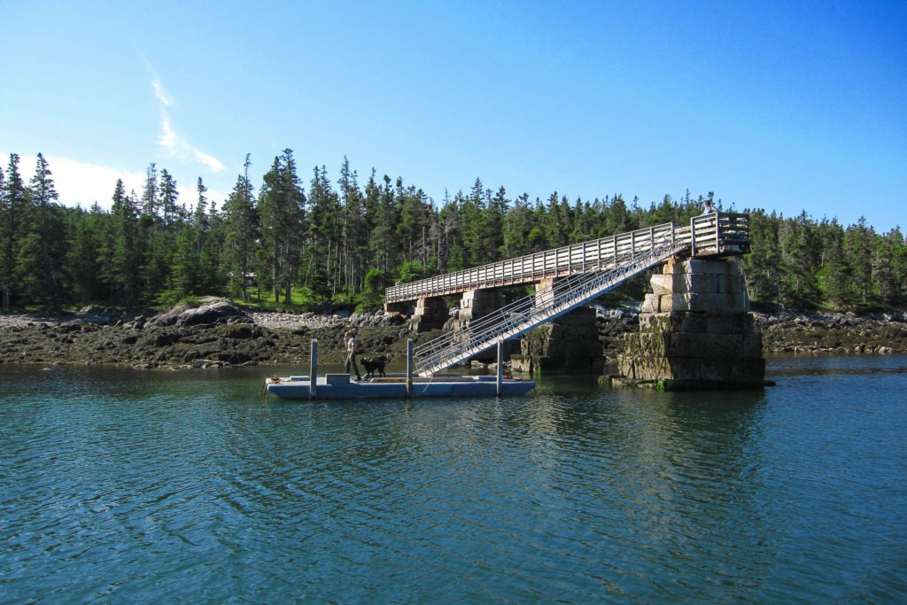 Acadia: Duck Harbor Landing Dock