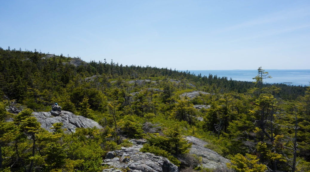Acadia: View from Duck Harbor Mountain