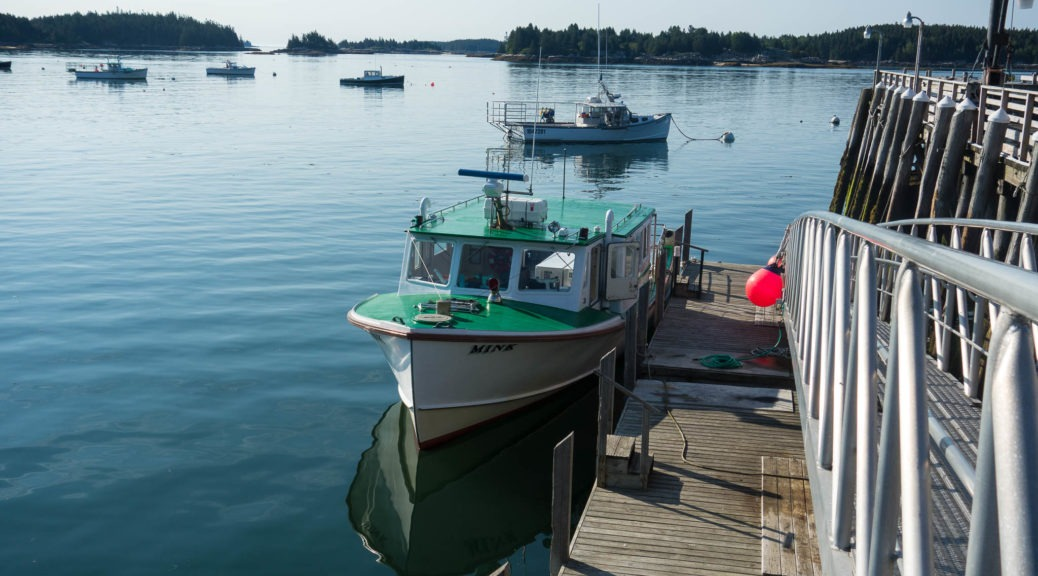 Acadia: Isle au Haut Mail Boat
