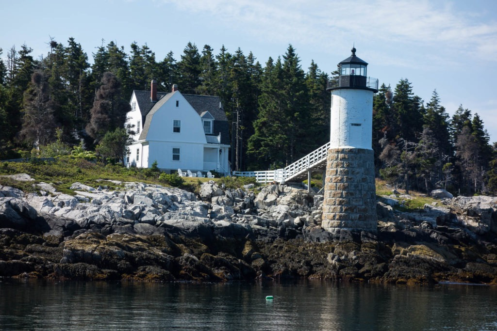 Acadia: Isle au Haut Robinson Lighthouse