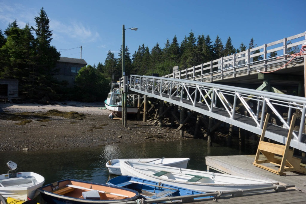 Acadia: Isle au Haut Town Dock