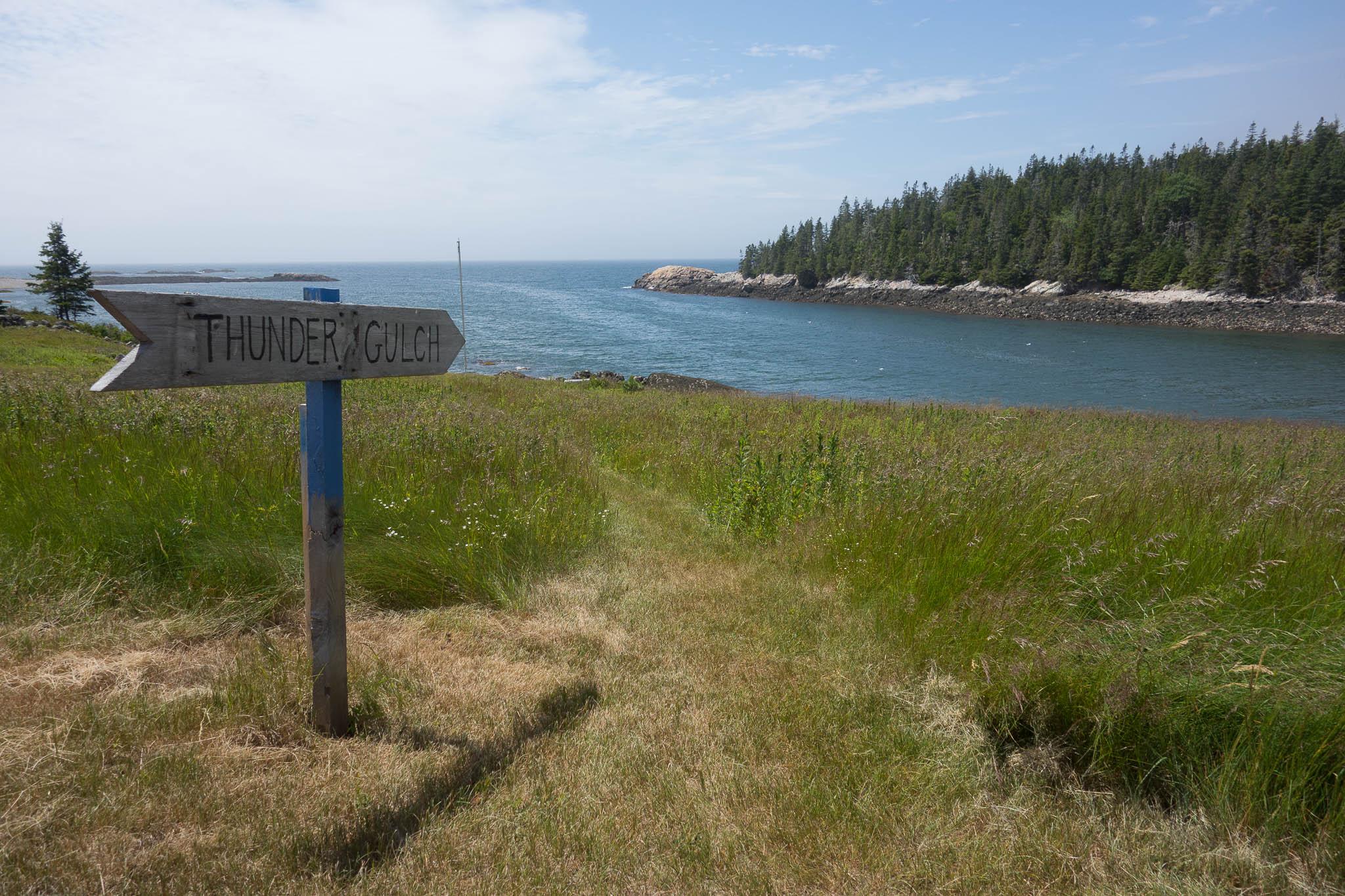 Acadia: Thunder Gulch Trailhead