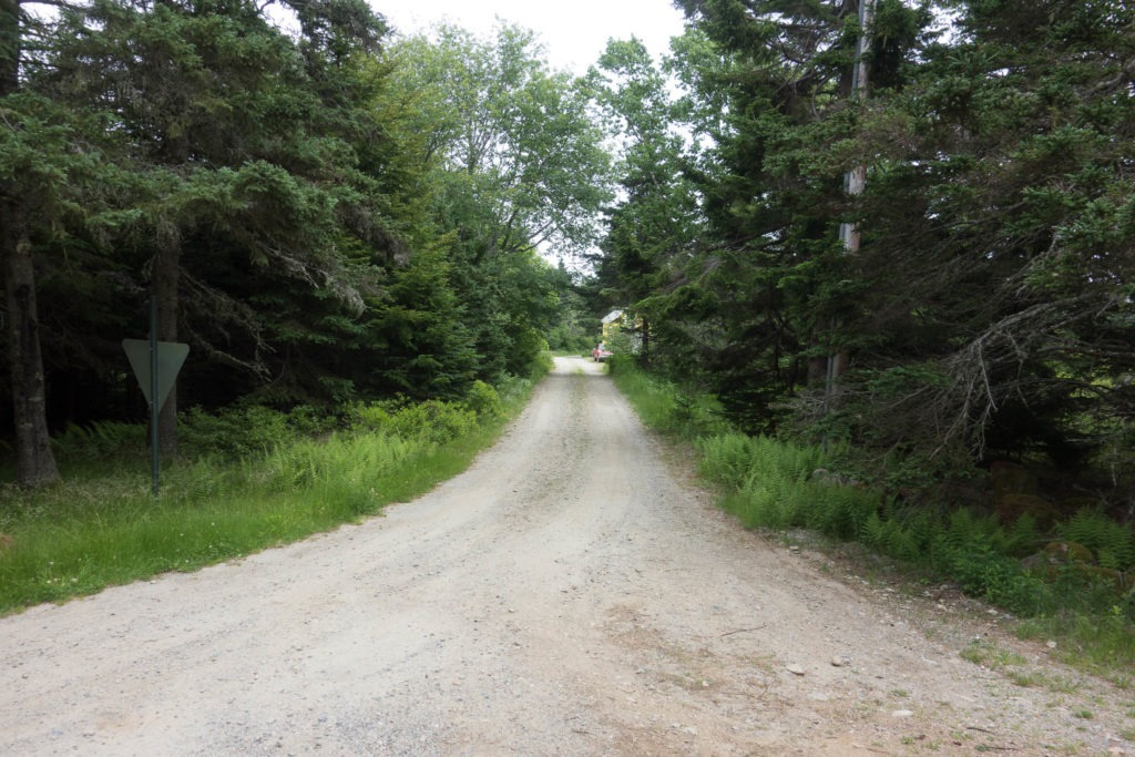 Acadia: Unpaved road to Thunder Gulch