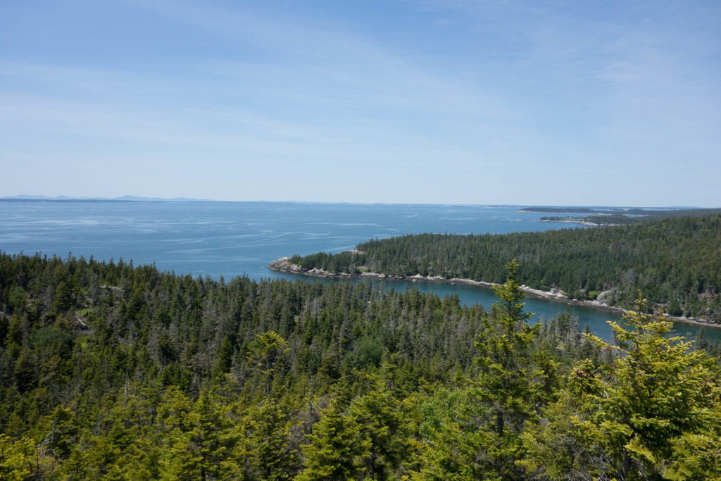 Acadia: Duck Harbor from Duck Harbor Mountain
