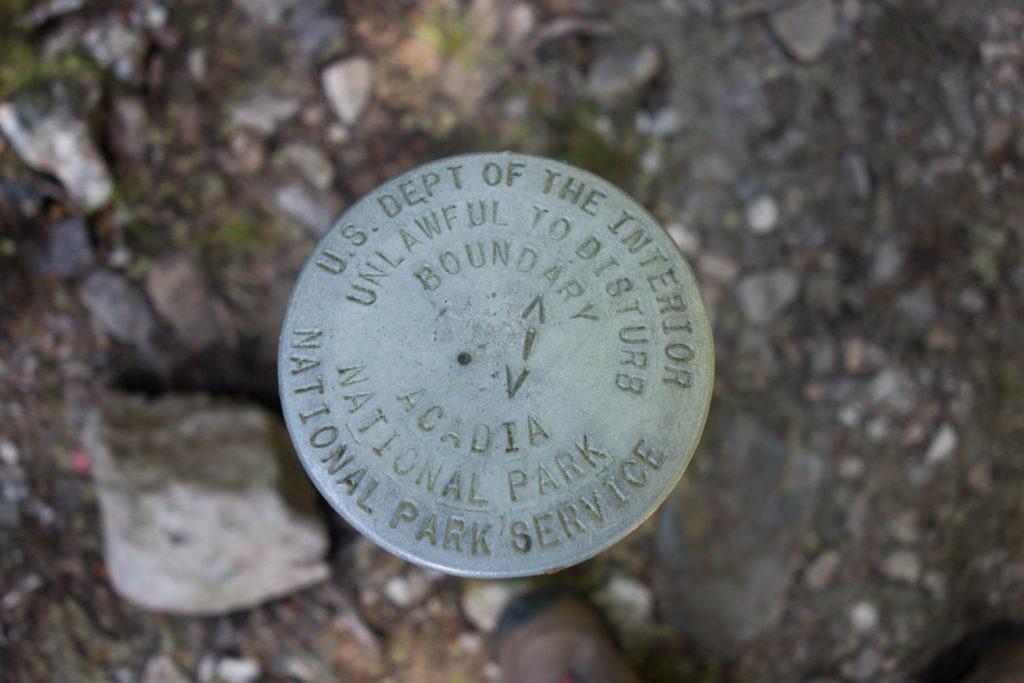Acadia: Boundary Markers on Isle au Haut