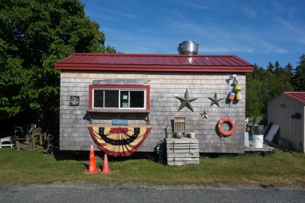 Acadia: Isle au Haut Lobster Lady