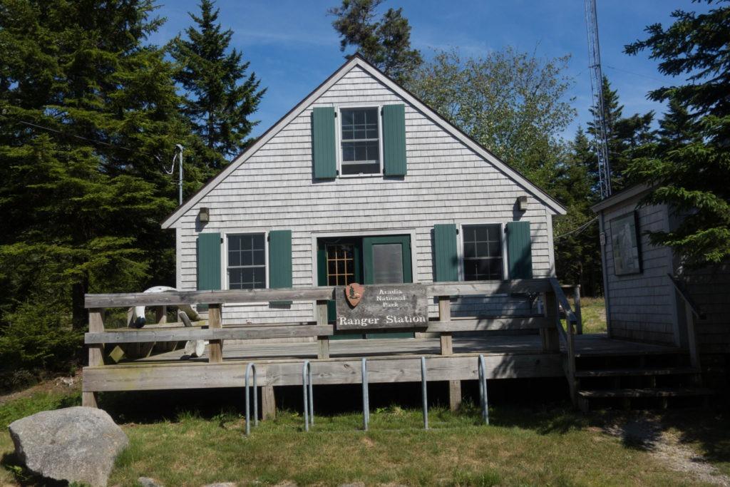 Acadia: Isle au Haut Ranger Station