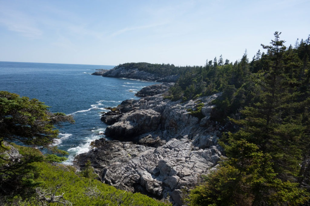 Acadia: Cliff Trail View