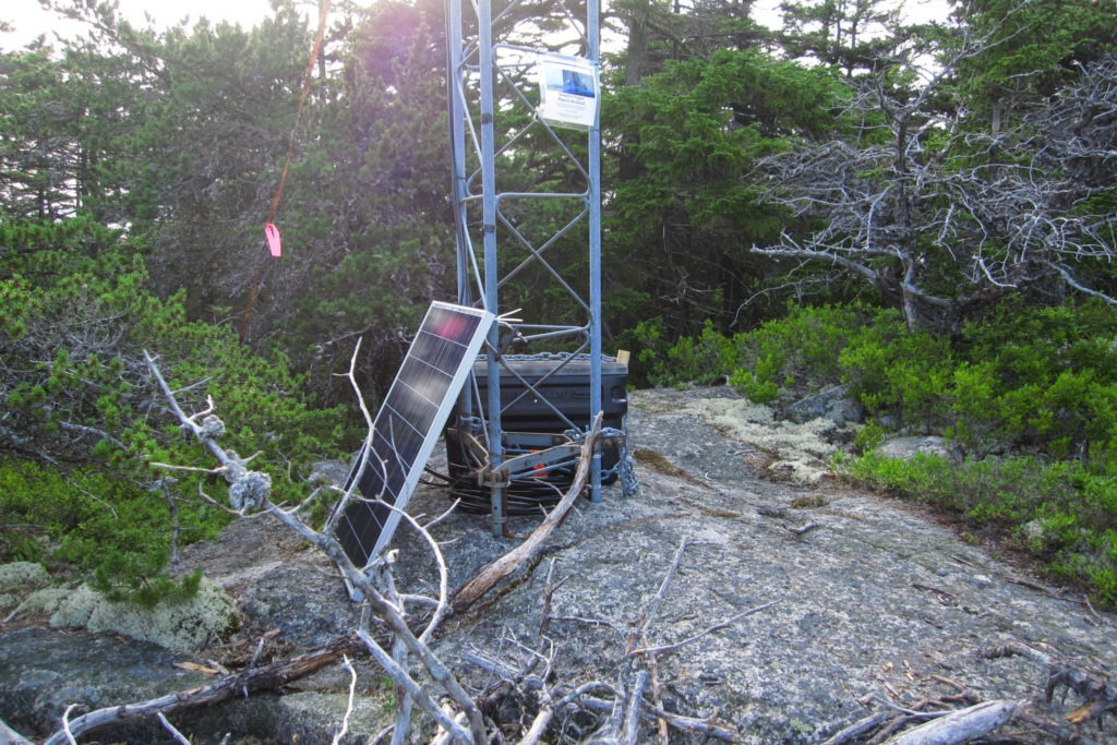 Acadia: Bat Research Station on Schoodic Head