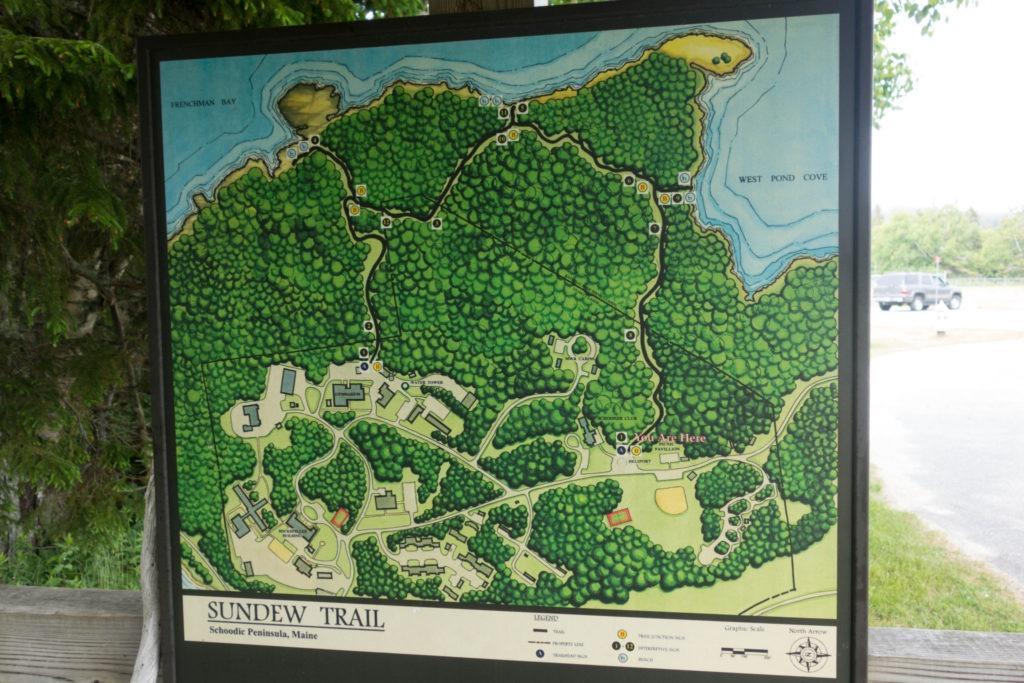 Acadia: Sundew Trailhead in Schoodic