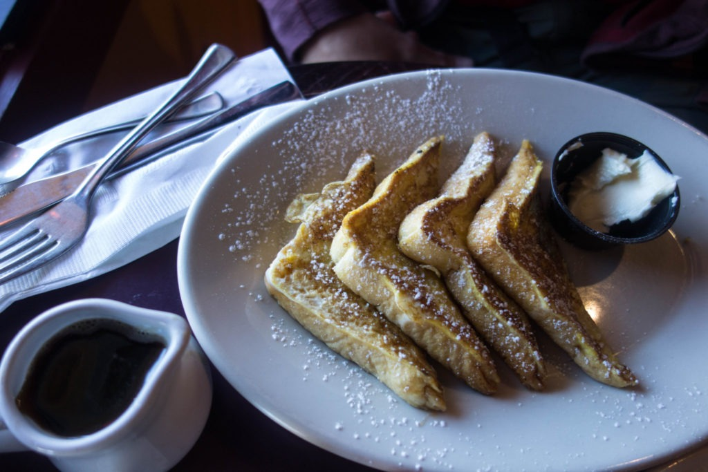 Acadia: French Toast at Sips in Southwest Harbor