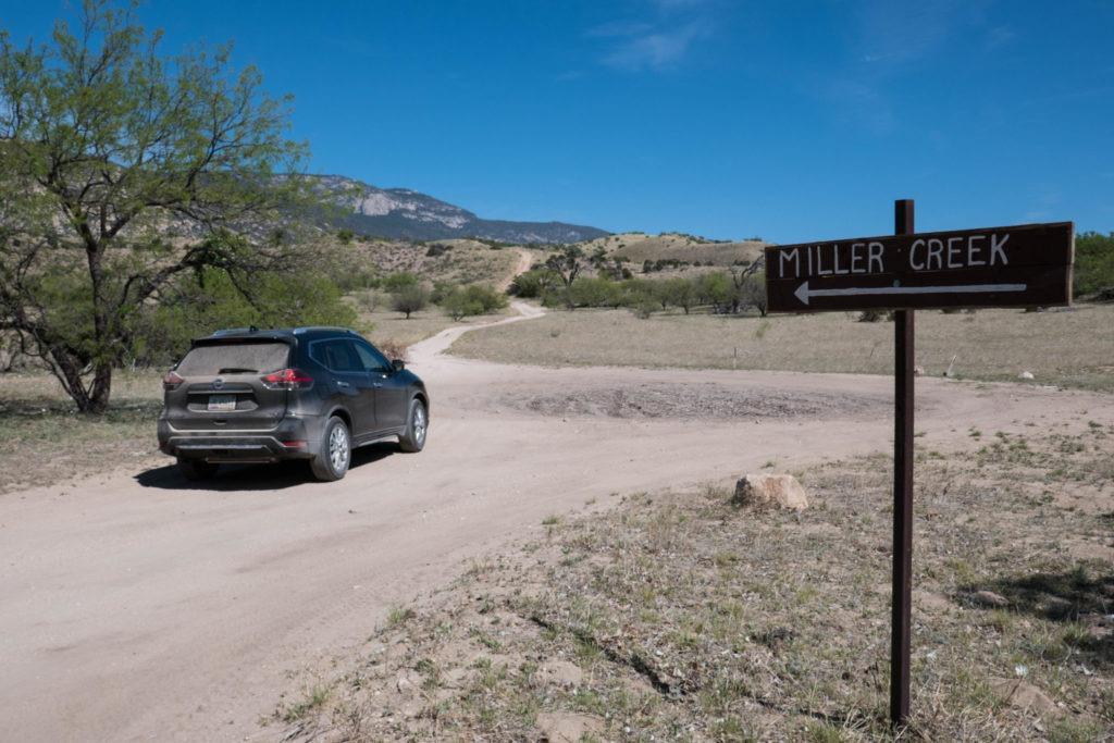 Saguaro: Miller Creek Trailhead