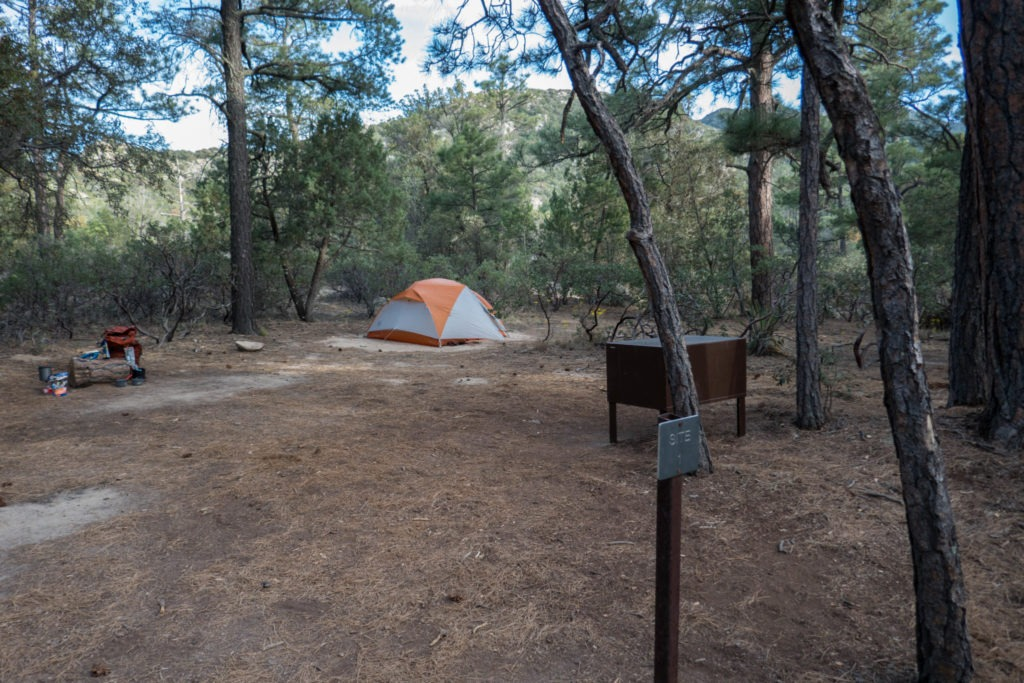 Saguaro: Happy Valley Campground - Site 1