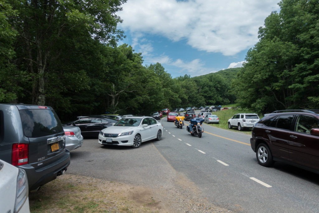 Shenandoah: Hawksbill Gap Parking