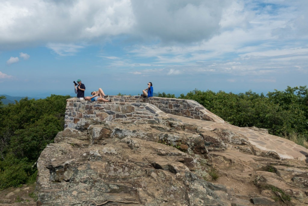 Shenandoah: Hawksbill Summit Viewpoint