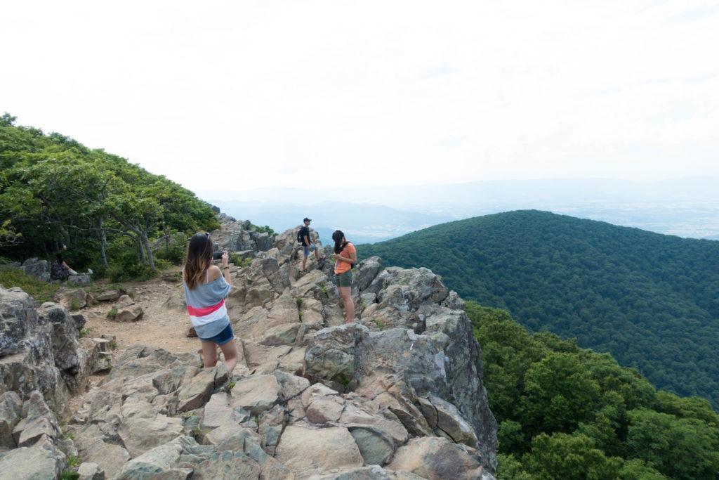 Shenandoah: Rocky Hawksbill Summit