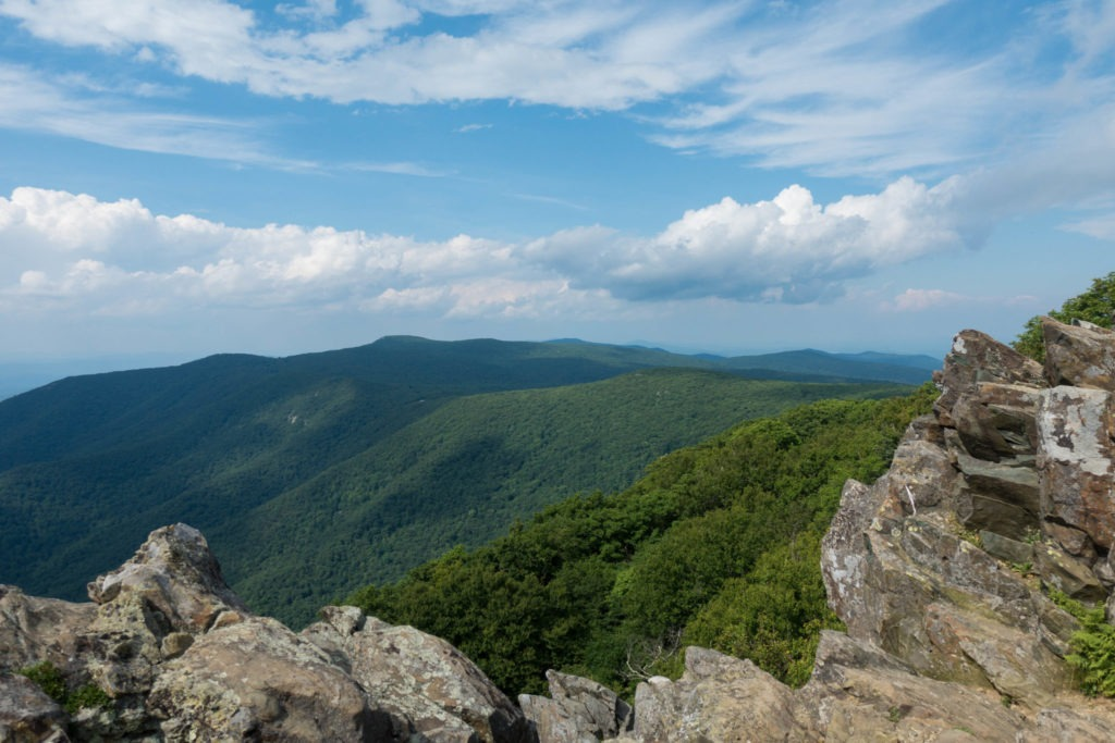 Shenandoah: View from Hawksbill Summit