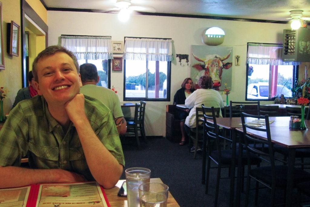 Saguaro: Inside Farmhouse Restaurant in Benson