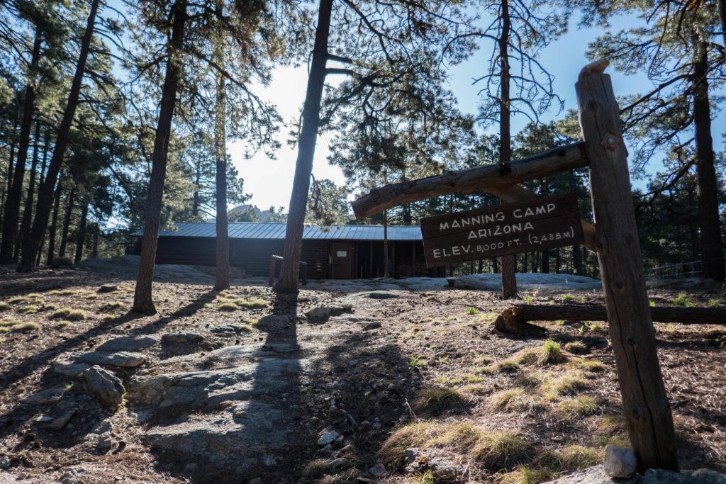 Saguaro: Front of Manning Camp