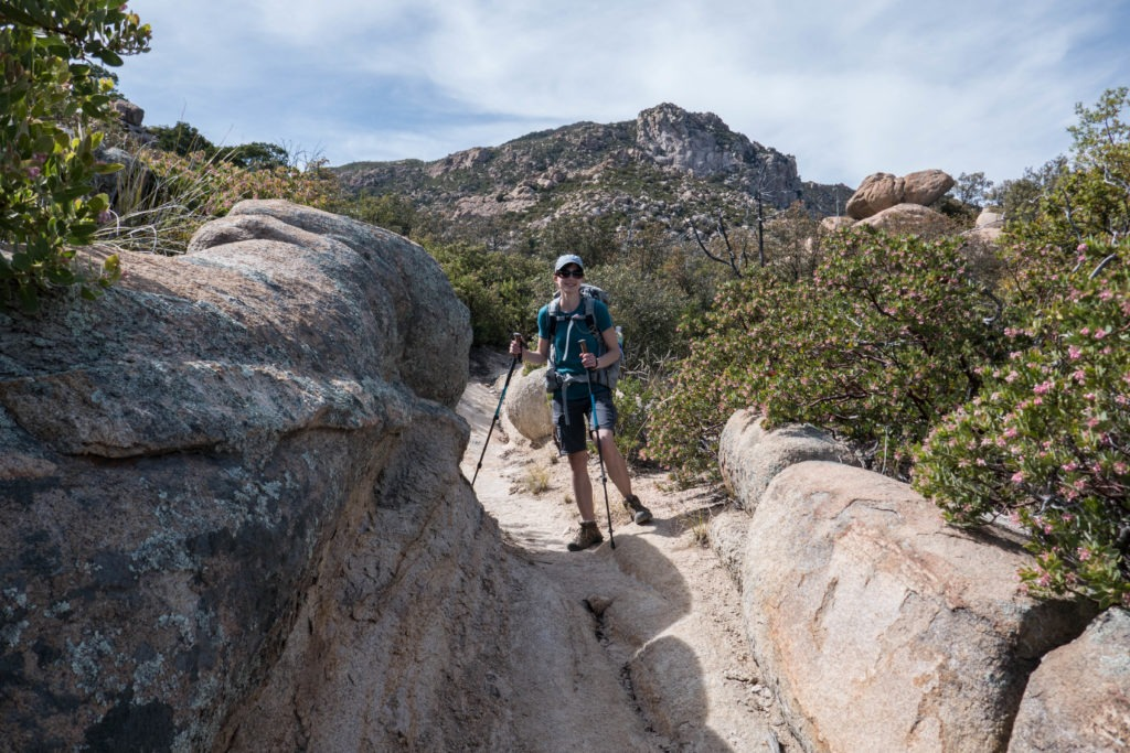Saguaro: Rocky Half-Pipe on Miller Creek Trail