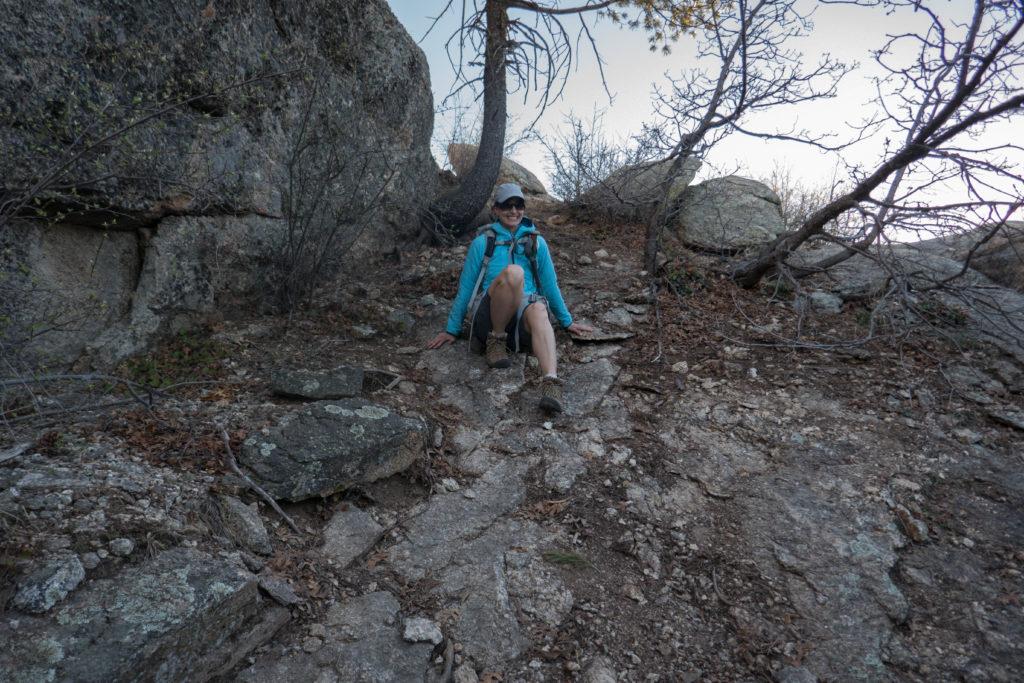 Saguaro: K Descending Spud Rock