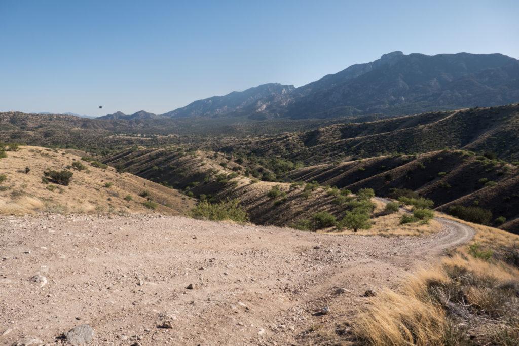 Saguaro: Views along Turkey Creek 4WD Road