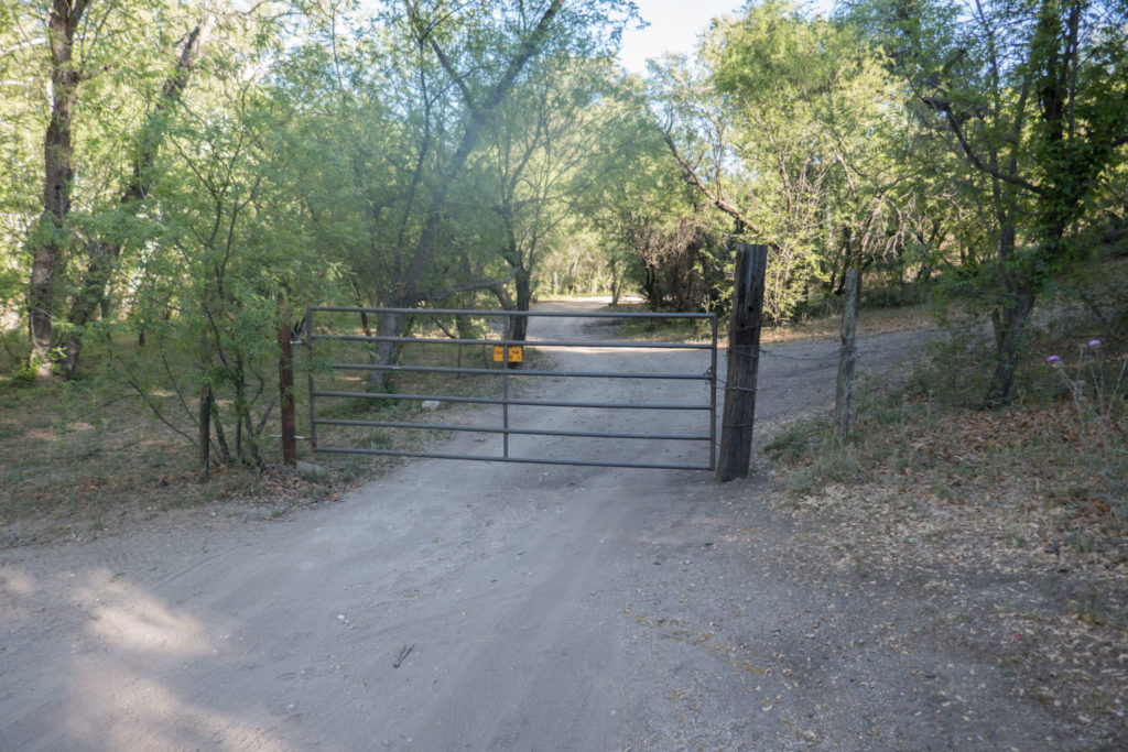 Saguaro: Entrance/Exit Gate for Turkey Creek Trail Area