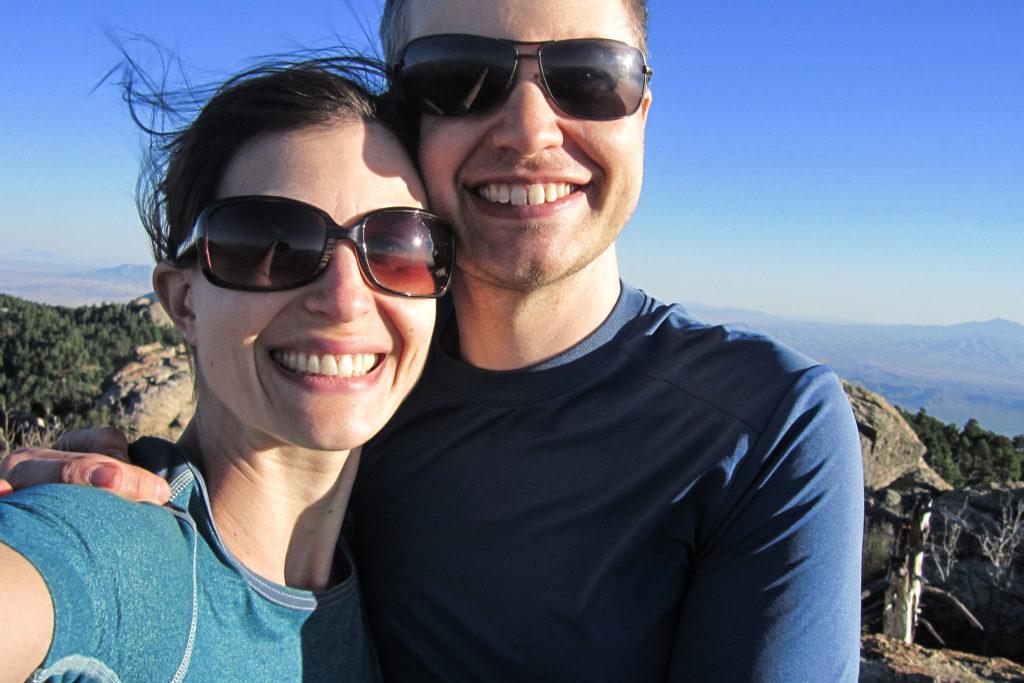 Saguaro: Selfie on Spud Rock