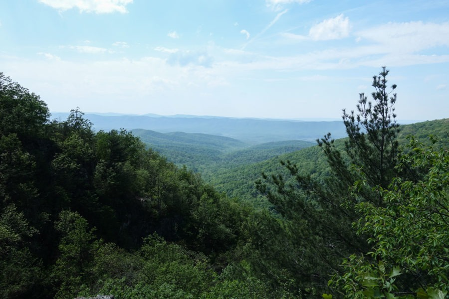 Shenandoah: View West of Massanutten Mountains