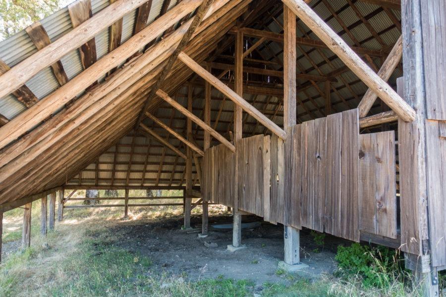 Redwood: Inside Long Ridge Sheep Shed