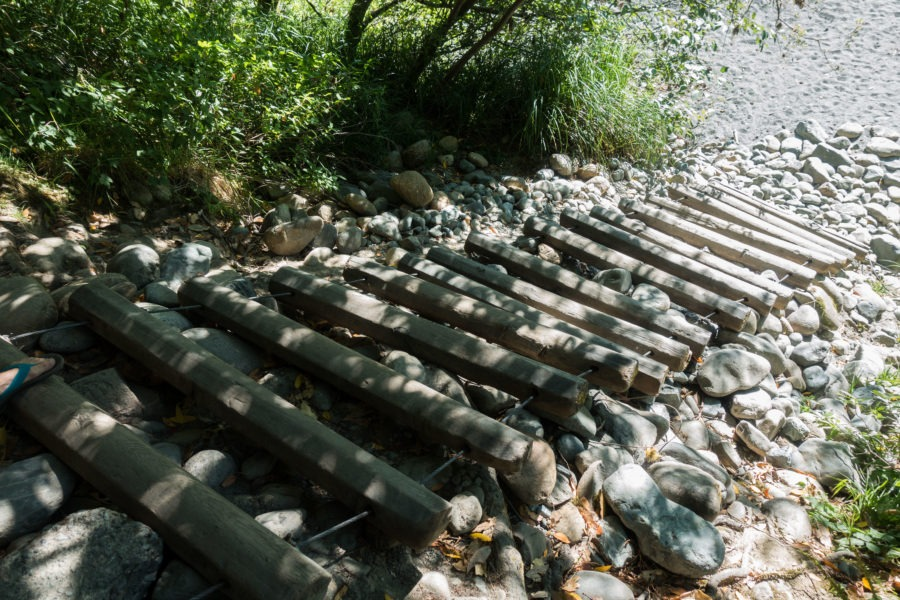 Redwood: Stairs to Beach at Jedediah Smith Campground
