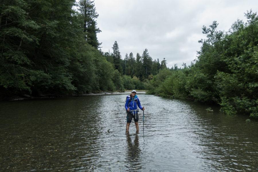 Redwood: Kristin Wading Redwood Creek