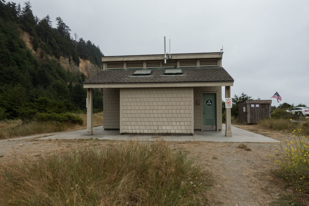 Redwood: Gold Bluffs Beach Campground Restrooms