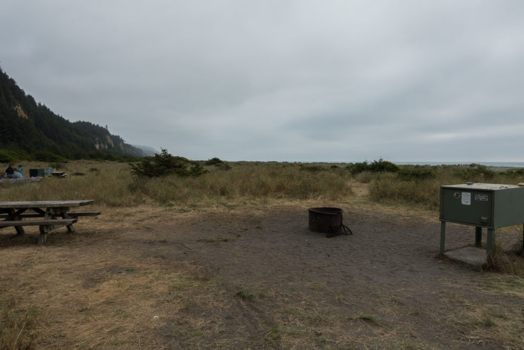 Redwood: Gold Bluffs Beach Campground #19