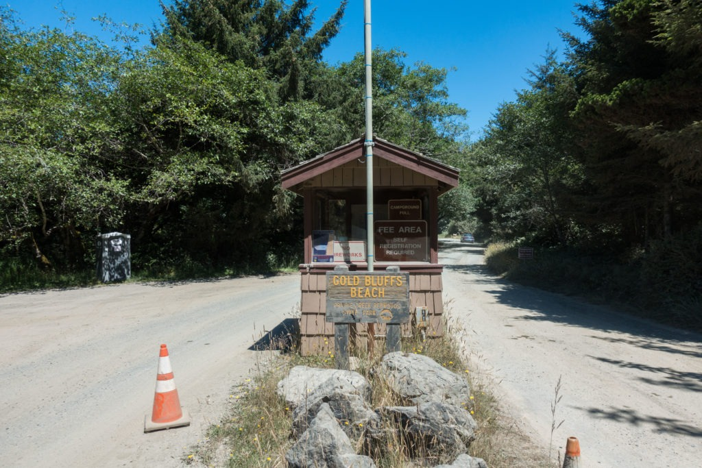 Redwood: Gold Bluffs Beach Campground Kiosk