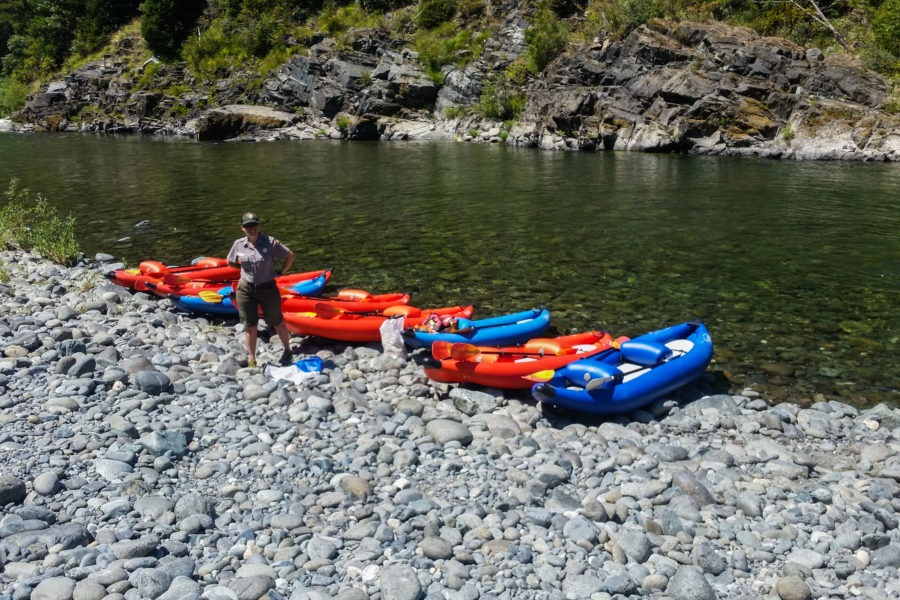 Redwood: Kayak Put In